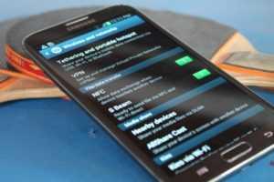 Как подключить нфс на Samsung